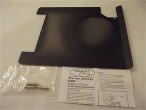 Rear Heat Shields For Monessen Wood Burning Cast Iron Stoves