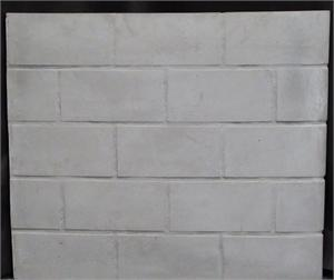 Universal Large Fireplace Replacement Stack Brick Refractory Panel