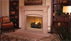 Vent Free 42 Quot Mosaic Masonry Firebrick Fire Box With 30