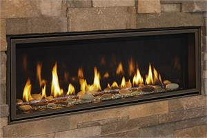 "Echelon II Direct Vent 72"" Majestic Gas Fireplace"