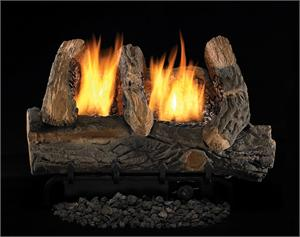 H18 H24 FMI Heat Majic Single Flame Vent-Free Gas Log Set