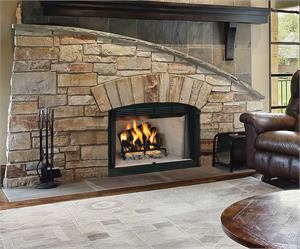 Wood Burning 42 2000 Series Superior Vantage Hearth Merit Traditional Big Box Look Fireplace
