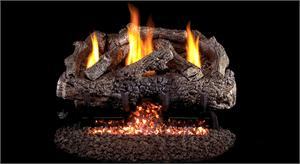 Charred Frontier Oak Gas Log Set