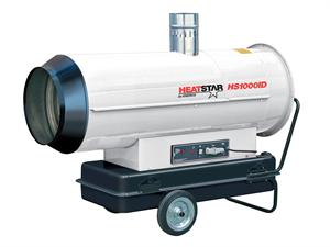 HS1000ID-R RECONDITIONED HeatStar Indirect-Fired Heater 113,000 Btu Oil JP8 Military Tent Heater F151010R