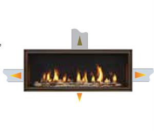Heat Zone Kit for a Specified Room for Majestic Fireplaces