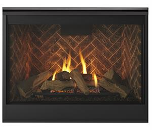 "Meridian Series Majestic 42"" Direct Vent Gas Fireplace"