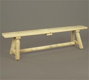 Bench Straight Bench Rustic Cedar Furniture 030020B