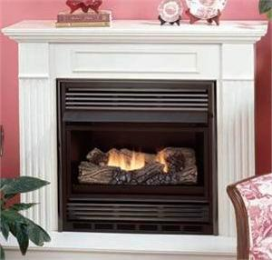 Vent Free Superior Compact Classic Hearth Dual Burner Gas ...