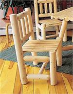 Dining Chair Rustic Cedar Indoor Dining Furniture 3