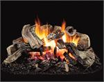 HKE Superior Black Tupelo Vented Gas Log Set HKE