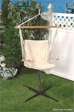 Metro Hammock Chair by Bliss Hammocks in Canvas White BHC-414WH