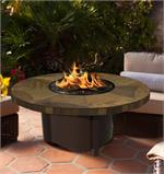 Carmel Round with Mosaic Rusty Slate Top