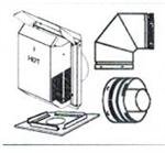 Direct Vent SV45TK90HT2 4.5/7.5 Horizontal Termination Kit HT2 includes 90