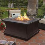Monterey Chat Height Gas Outdoor Fire Pit Table