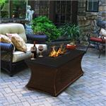 Outdoor Gas Fire Pit Coffee Table Mendocino Series