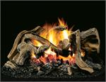 HCM Little Leaf Oak Vented Gas Log Set Superior