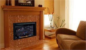 Indoor Vent Free Gas Fireplace System