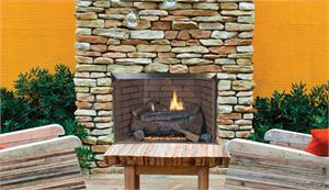 Outdoor Vent Free Gas Fireplace System