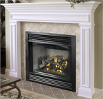 Indoor Direct-Vent Gas FireUp Upgradeable Fireplace Versafire Chassis & Modules System