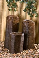 Basalt Bubbling Water Columns External Springs Fountain Hargrove BA20 BA30 BA40