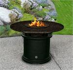 Fire Pit Table Del Mar Dining Height Multifunctional Arctic Flame Glass
