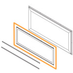 LDSTO Linear Direct-Vent Indoor/Outdoor See-Thru Upgrade