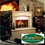 AH FMI HearthCATs™ PureFire™ Green Technology Aftermarket Adjustable Emission Clean Burning Wood Fireplace Hood