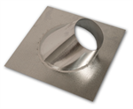 RF-58-12 Direct Vent Galvanized Roof Flashing - 6/12 to 12/12 Pitch