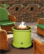Gas Outdoor Fire Pit Island Chat Height Fire Pit With