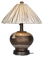 Outdoor Patio Phoenix Table Lamp Silver 84916