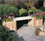 Planter Bench #3101644 and Two Planter Boxes #3122121