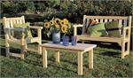504 506 509 English Garden Chair Settee Table 504 506 509