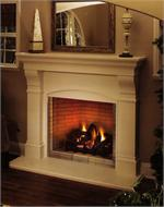 Indoor Direct Vent Gas Fireplace Systems