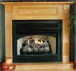 Indoor Vent Free Gas Fireplace Hearth System