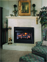 Indoor Vent Free Gas Fireplace Insert Hearth