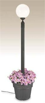 Outdoor European Single Globe Planter Patio Lamp