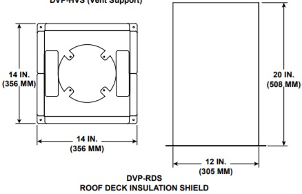dvp-rds roof deck insulation shield