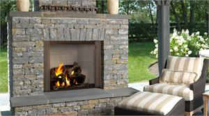 Majestic Outdoor Fireplaces