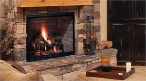 Majestic Wood Burning Fireplaces
