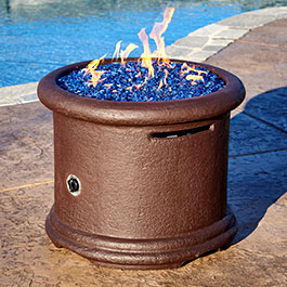 Island Series Outdoor Gas Fire Pit