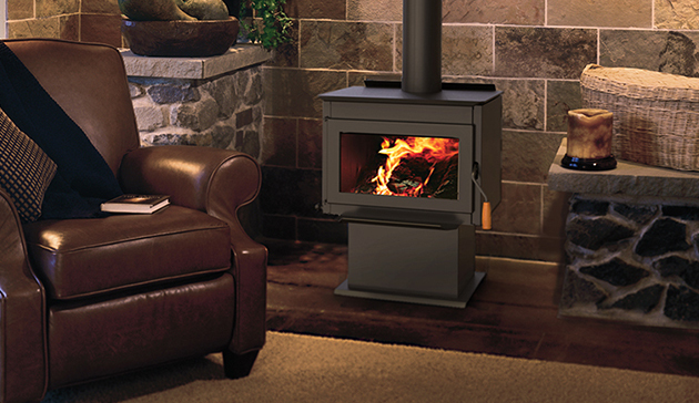 Wood Burning Free Standing Stove By Superior With 1 6 Cubic Feet Interior F4020