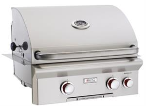 "Grill 24"" T Series Built In Grill with Backburner by American Outdoor Grills"