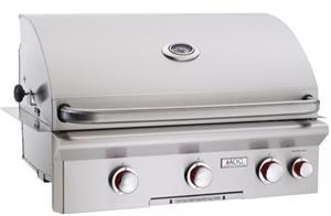 "Grill 30"" T Series Built In Grill with Backburner by American Outdoor Grills 30NBT"
