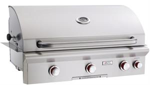 "Grill 36"" T Series Built In Grill with Backburner by American Outdoor Grills 36NBT"