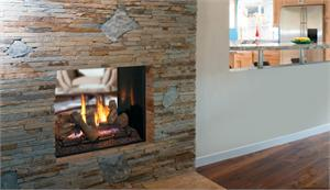 "DRT63ST 40"" Direct Vent See Through Fireplace"