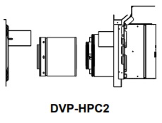 DVP-HPC2 High Performance Termination Cap Long Flue with Attached Slip and Wall Shield with Heat Shield