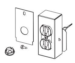 H1958 JBK Junction Box Kit For Blower Fans