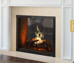 "Direct Vent See Thru Marquis II 42"" Majestic Gas Fireplace"