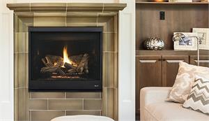 "Direct Vent 40"" Complete Custom Clean Face Fireplace by Superior DRT4200 Series"