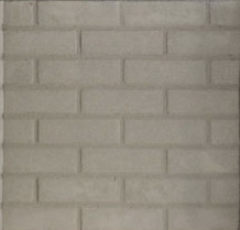 21274 Stacked Brick Gray Refractory - Bottom Fits 3600